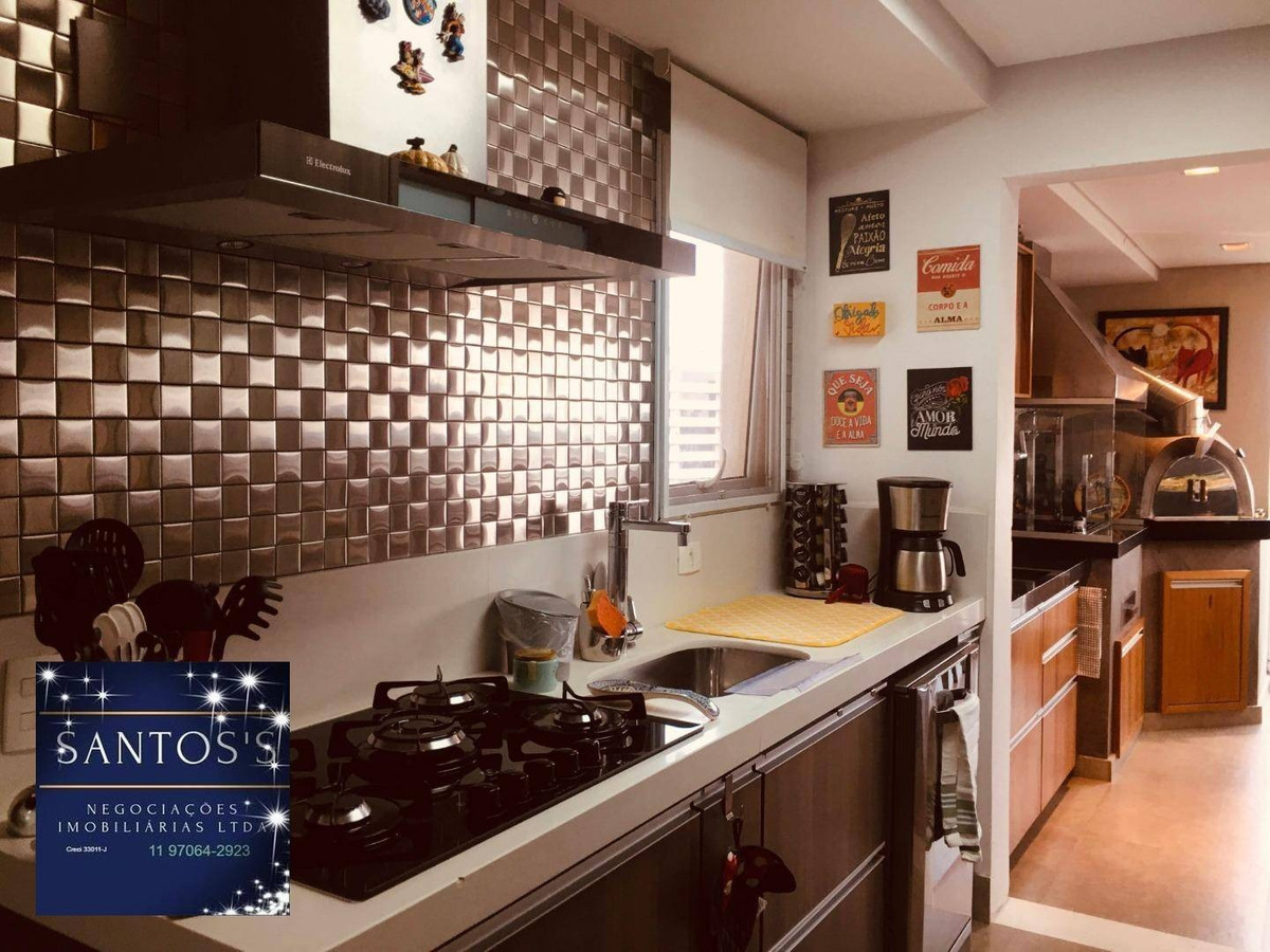 apartamento com 4 dormitórios à venda, 160 m² por r$ 1.400.000,00 - jardim dom bosco - são paulo/sp - ap1338