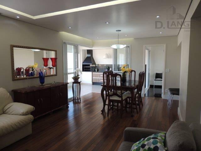apartamento com 4 dormitórios à venda, 162 m² por r$ 1.419.000,00 - parque prado - campinas/sp - ap10805