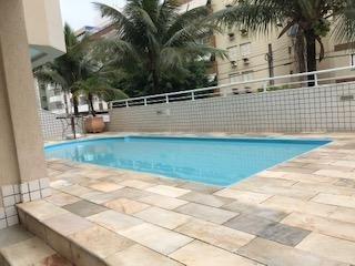 apartamento com 4 dormitórios à venda, 163 m² por r$ 1.200.000 - balneário cidade atlântica - guarujá/sp - ap0054