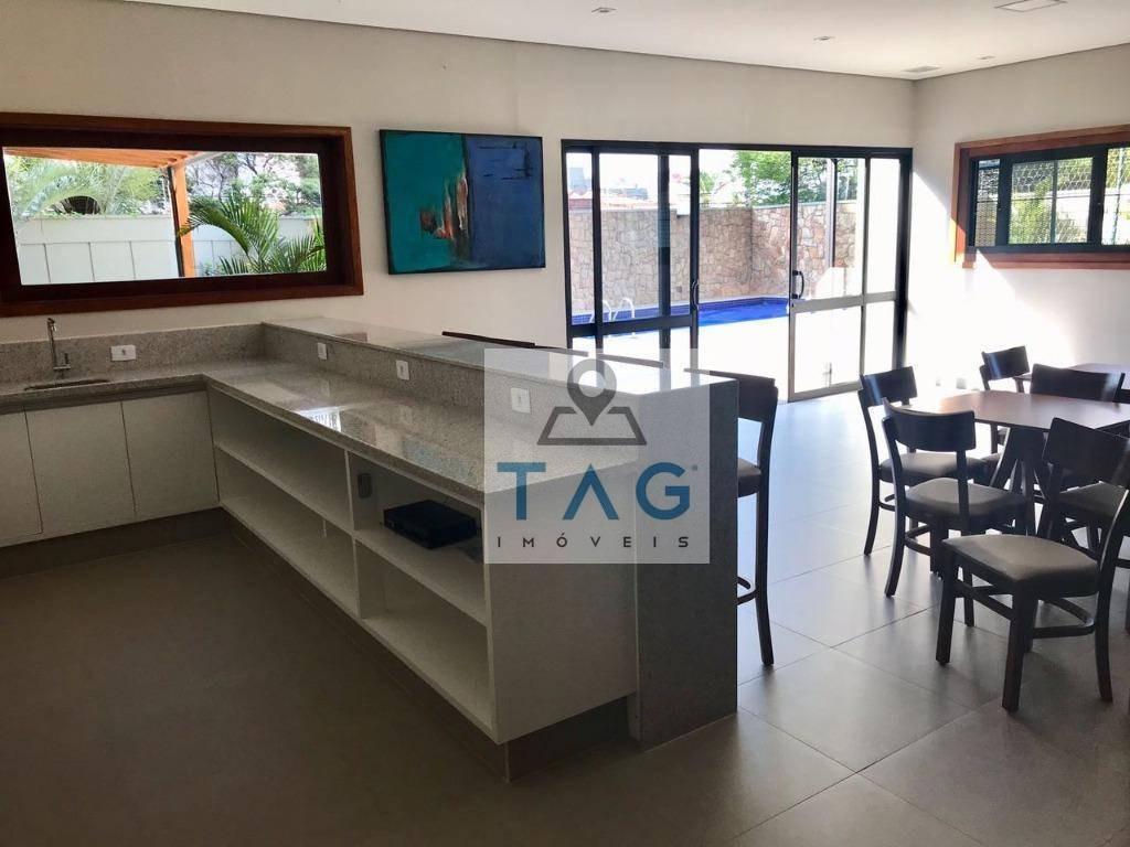 apartamento com 4 dormitórios à venda, 164 m² por r$ 848.000 - bosque - campinas/sp - ap0440