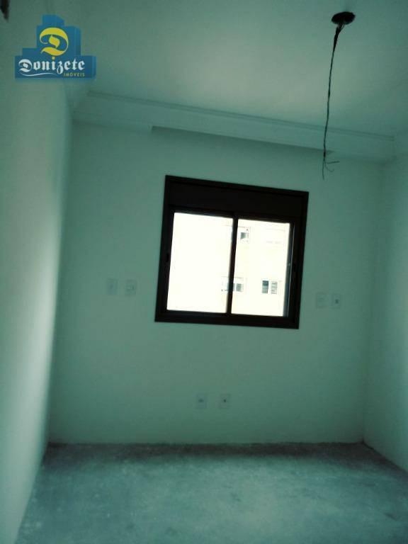 apartamento com 4 dormitórios à venda, 165 m² por r$ 1.400.000,01 - jardim - santo andré/sp - ap7800