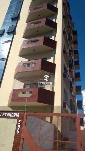 apartamento com 4 dormitórios à venda, 168 m² por r$ 730.000 - vila bastos - santo andré/sp - ap12139