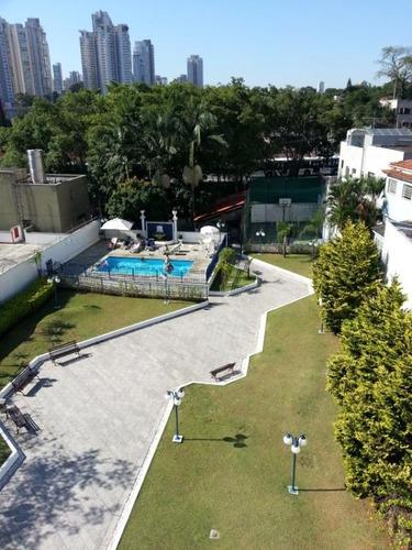apartamento com 4 dormitórios à venda, 169 m² por r$ 1.430.000 - brooklin - são paulo/sp - ap1302