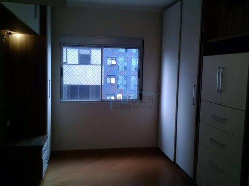 apartamento com 4 dormitórios à venda, 169 m² por r$ 985.000,00 - brooklin paulista - são paulo/sp - ap12091