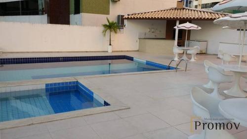 apartamento com 4 dormitórios à venda, 174 m² por r$ 470.000 - jardins - aracaju/se - ap0735