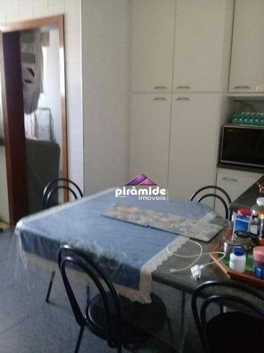 apartamento com 4 dormitórios à venda, 178 m² por r$ 900.000 - vila ema - são josé dos campos/sp - ap10387