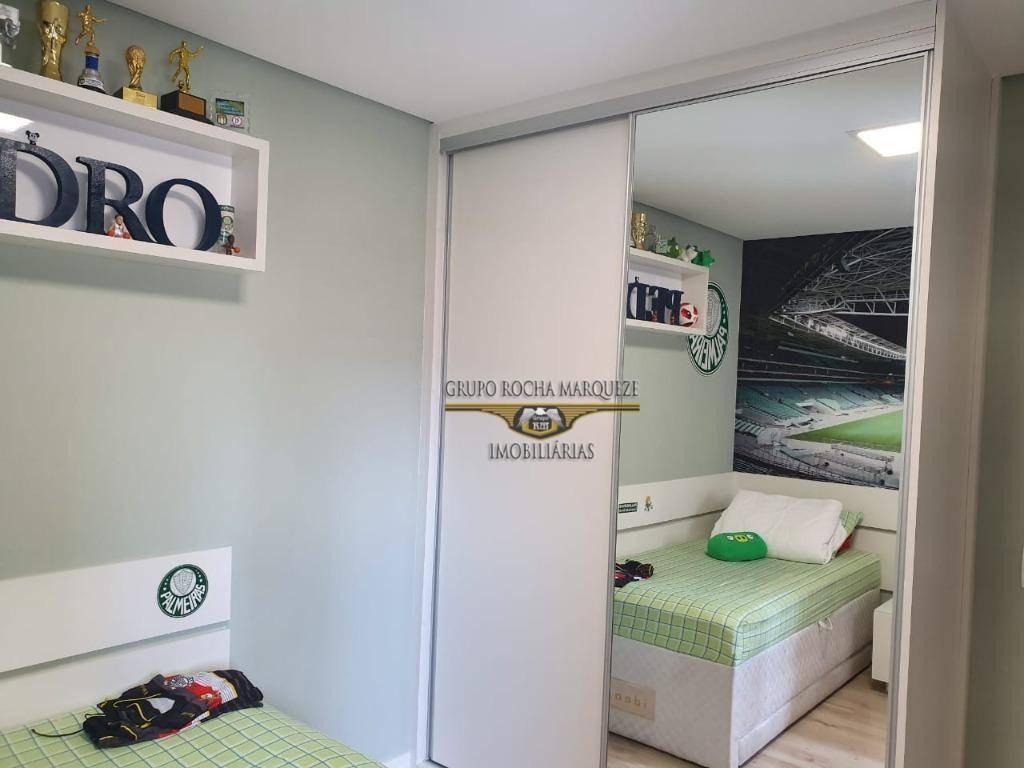 apartamento com 4 dormitórios à venda, 180 m² por r$ 1.800.000,00 - belenzinho - são paulo/sp - ap2373