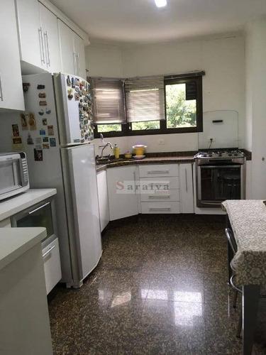 apartamento com 4 dormitórios à venda, 180 m² por r$ 760.000 - vila dayse - são bernardo do campo/sp - ap0414