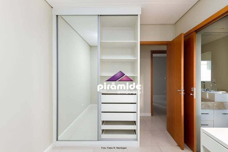 apartamento com 4 dormitórios à venda, 184 m² por r$ 1.500.000,00 - jardim aquarius - são josé dos campos/sp - ap10188