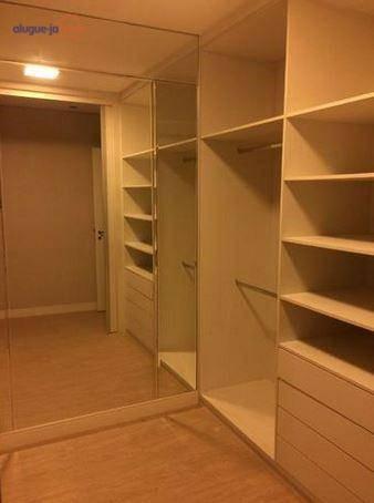 apartamento com 4 dormitórios à venda, 189 m² por r$ 1.585.000,00 - vila adyana - são josé dos campos/sp - ap7147