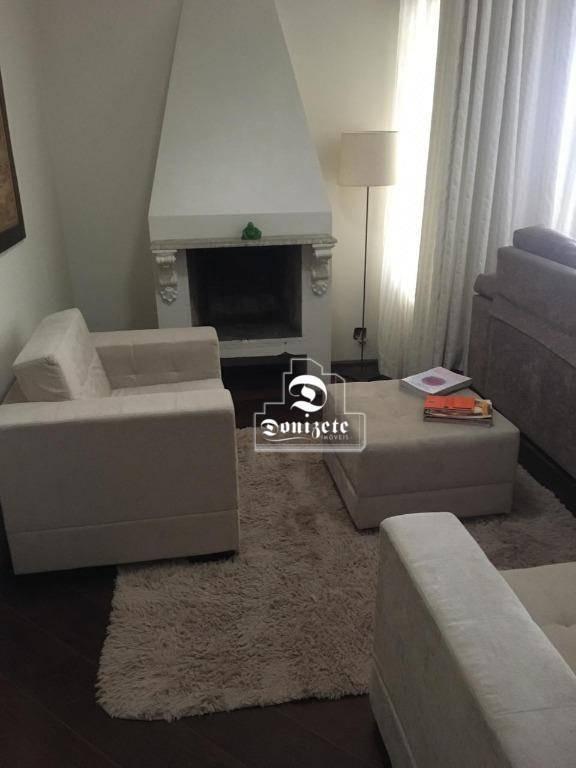 apartamento com 4 dormitórios à venda, 189 m² por r$ 954.000,10 - vila bastos - santo andré/sp - ap5581