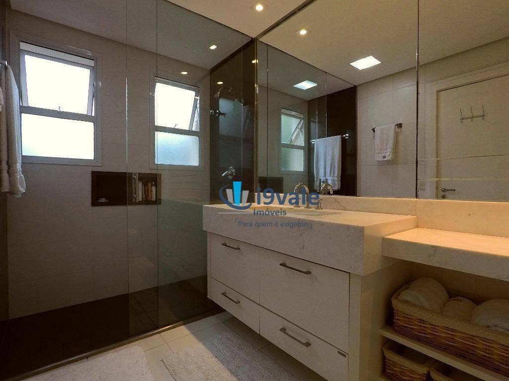 apartamento com 4 dormitórios à venda, 190 m² impecável - vila adyana - são josé dos campos/sp - ap2037