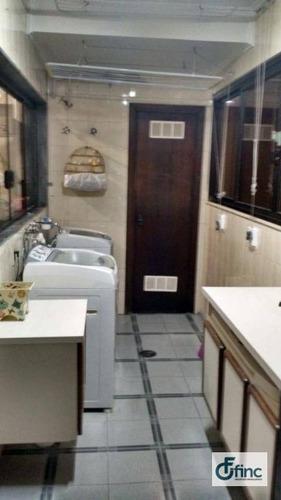 apartamento com 4 dormitórios à venda, 200 m² por r$ 800.000 - centro - sorocaba/sp - ap0966