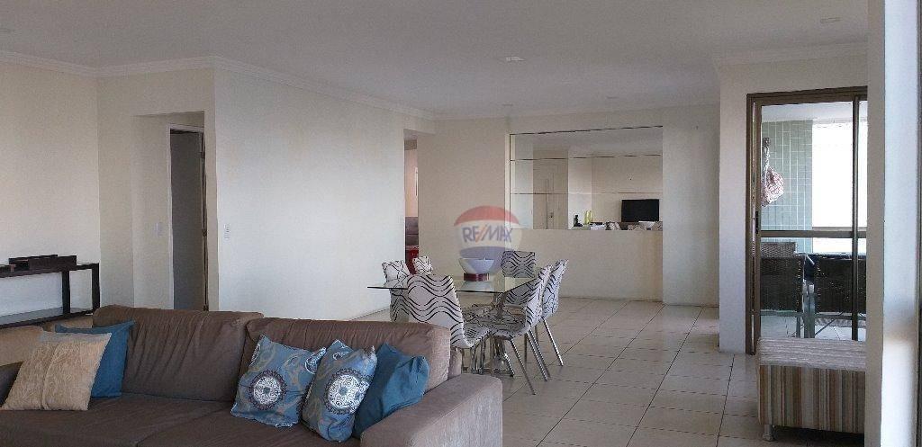 apartamento com 4 dormitórios à venda, 208 m² por r$ 1.189.000 - torre - recife/pe - ap0894