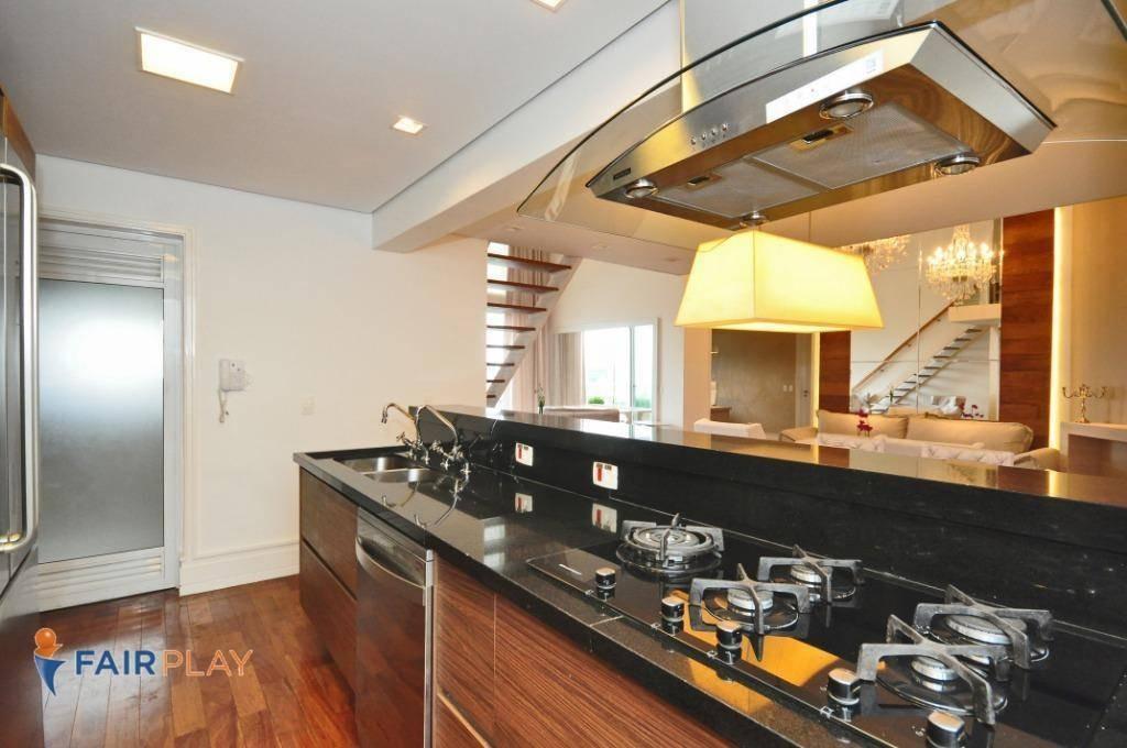 apartamento com 4 dormitórios à venda, 210 m² por r$ 3.150.000,00 - brooklin - são paulo/sp - ap3953