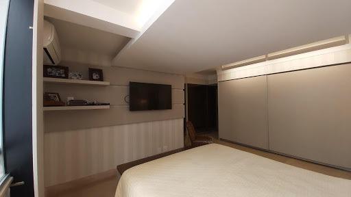 apartamento com 4 dormitórios à venda, 213 m² - setor bueno - goiânia/go - ap0215