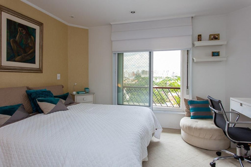 apartamento com 4 dormitórios à venda, 220 m² por r$ 1.725.000 - campo belo - são paulo/sp - ap3157