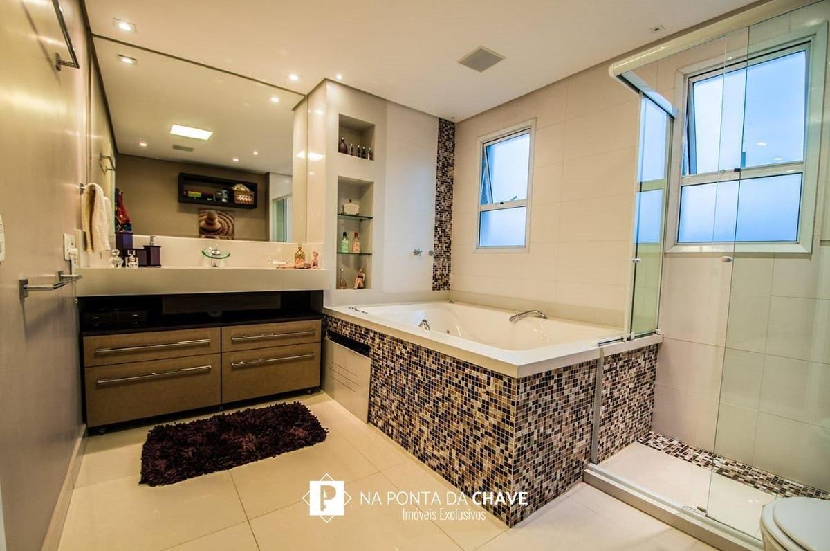apartamento com 4 dormitórios à venda, 242 m² por r$ 1.790.000,00 - nova petrópolis - são bernardo do campo/sp - ap0036