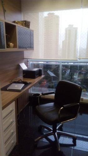 apartamento com 4 dormitórios à venda, 247 m² por r$ 2.800.000,00 - jardim anália franco - são paulo/sp - ap2055