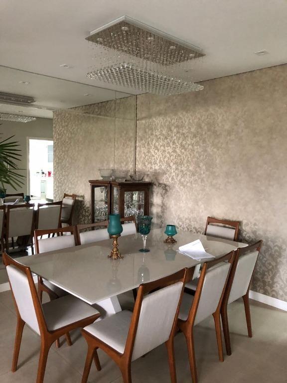 apartamento com 4 dormitórios à venda, 249 m² por r$ 1.980.000,00 - jardim portal da colina - sorocaba/sp - ap1187