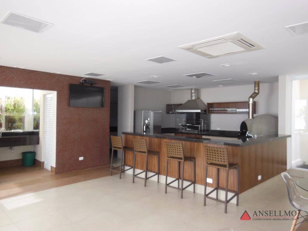 apartamento com 4 dormitórios à venda, 250 m² por r$ 1.350.000,00 - centro - são bernardo do campo/sp - ap0853