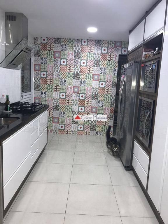 apartamento com 4 dormitórios à venda, 254 m² por r$ 2.000.000,00 - vila são francisco - osasco/sp - ap5689
