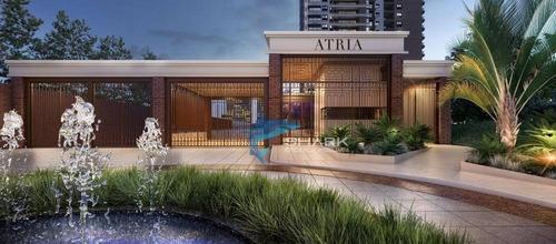 apartamento com 4 dormitórios à venda, 264 m² por r$ 1.931.434 - edifício átria - barueri/sp - ap0013