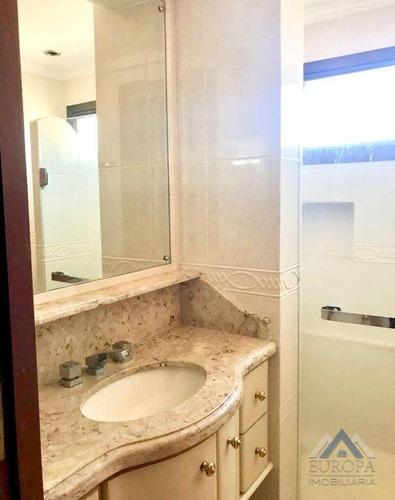 apartamento com 4 dormitórios à venda, 271 m² por r$ 760.000 - centro - londrina/pr - ap0148