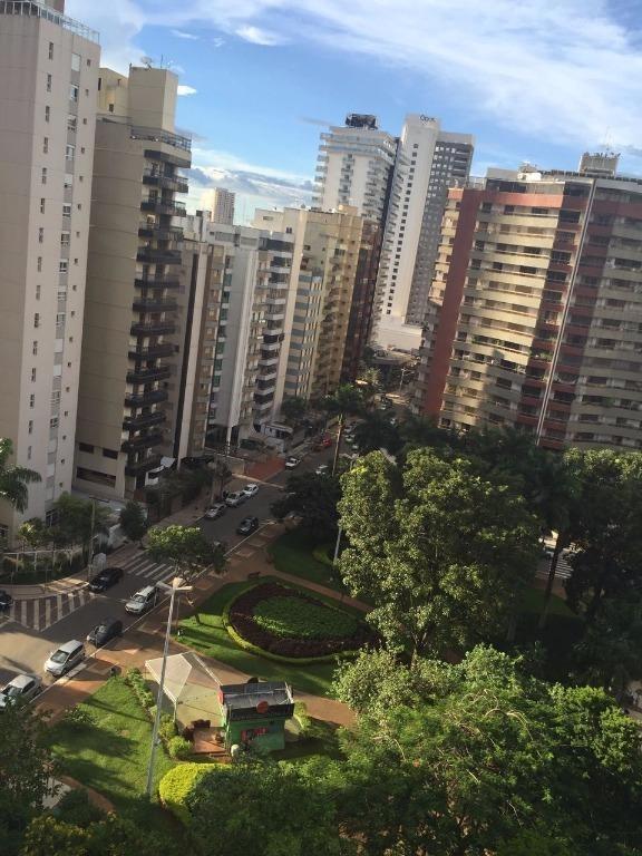 apartamento com 4 dormitórios à venda, 277 m² por r$ 1.100.000,00 - setor bueno - goiânia/go - ap0746