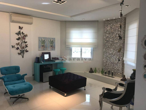 apartamento com 4 dormitórios à venda, 278 m² por r$ 2.750.000 - jardim do mar - são bernardo do campo/sp - ap0836
