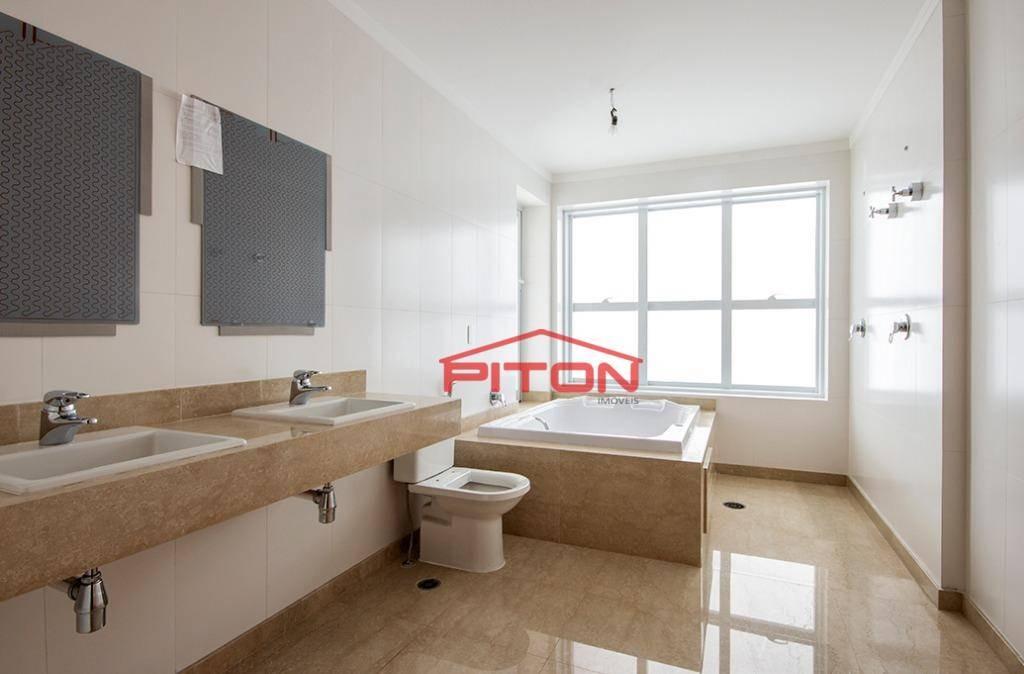apartamento com 4 dormitórios à venda, 280 m² por r$ 3.400.000,00 - anália franco - são paulo/sp - ap1529