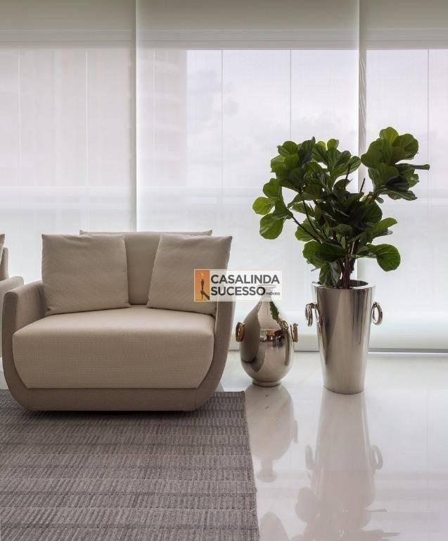apartamento com 4 dormitórios à venda, 285 m² por r$ 6.000.000 - tatuapé - são paulo/sp - ap5988