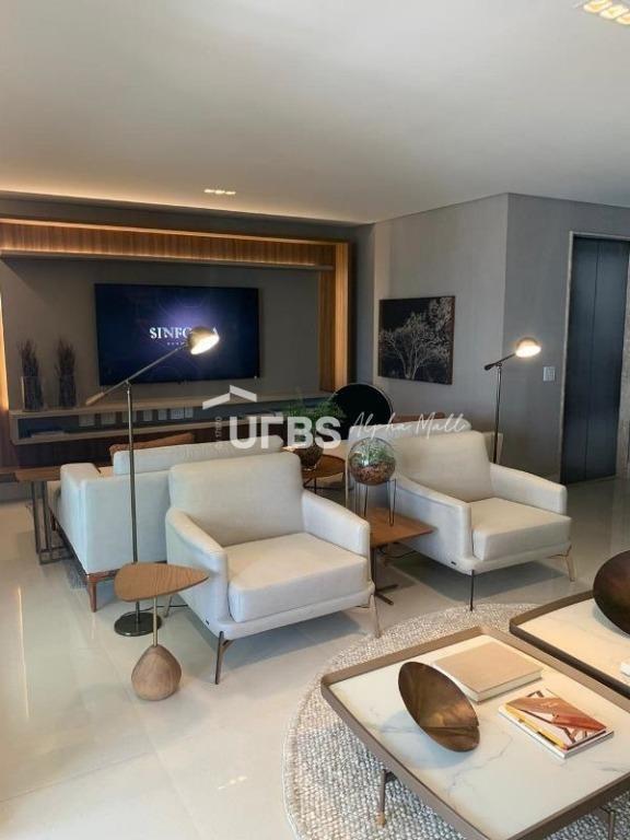 apartamento com 4 dormitórios à venda, 286 m² por r$ 2.250.000,00 - setor marista - goiânia/go - ap2975