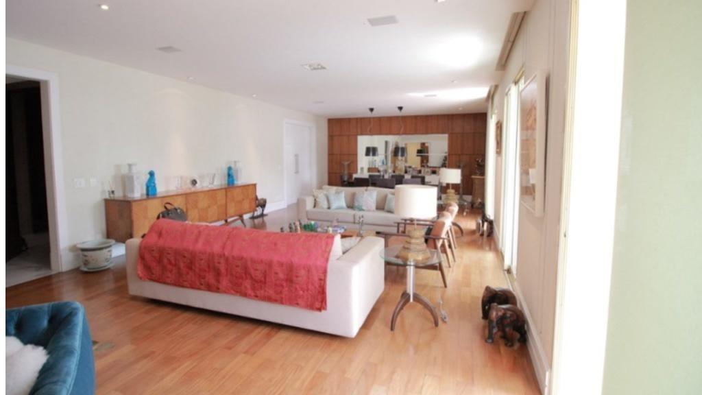 apartamento com 4 dormitórios à venda, 310 m² por r$ 4.300.000 - campo belo - são paulo/sp - ap0423