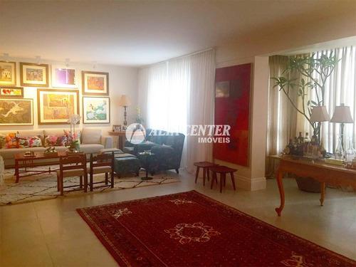 apartamento com 4 dormitórios à venda, 326 m² por r$ 1.200.000,00 - setor bueno - goiânia/go - ap0897