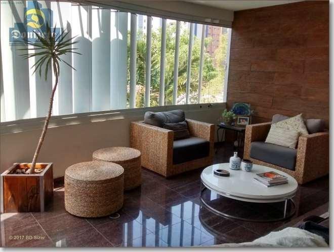 apartamento com 4 dormitórios à venda, 356 m² por r$ 2.350.000,00 - jardim - santo andré/sp - ap3110