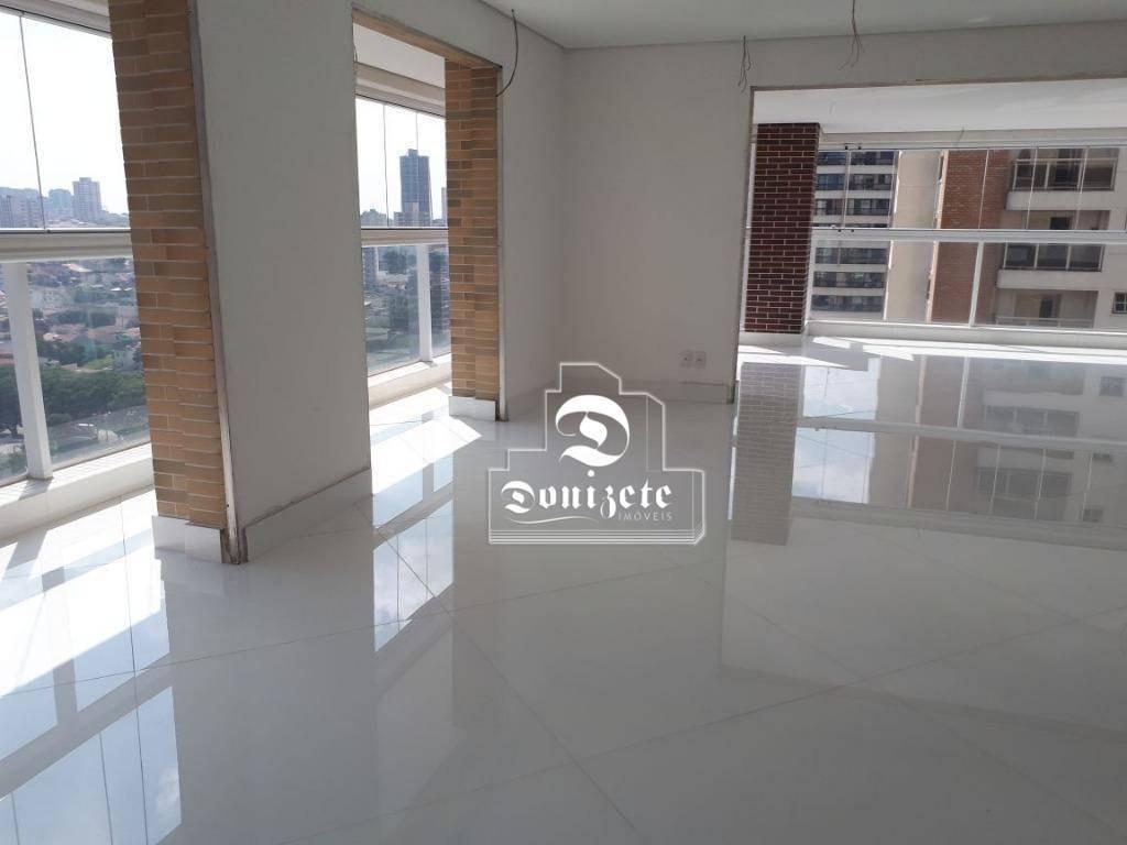 apartamento com 4 dormitórios à venda, 356 m² por r$ 3.500.000,00 - jardim - santo andré/sp - ap14179