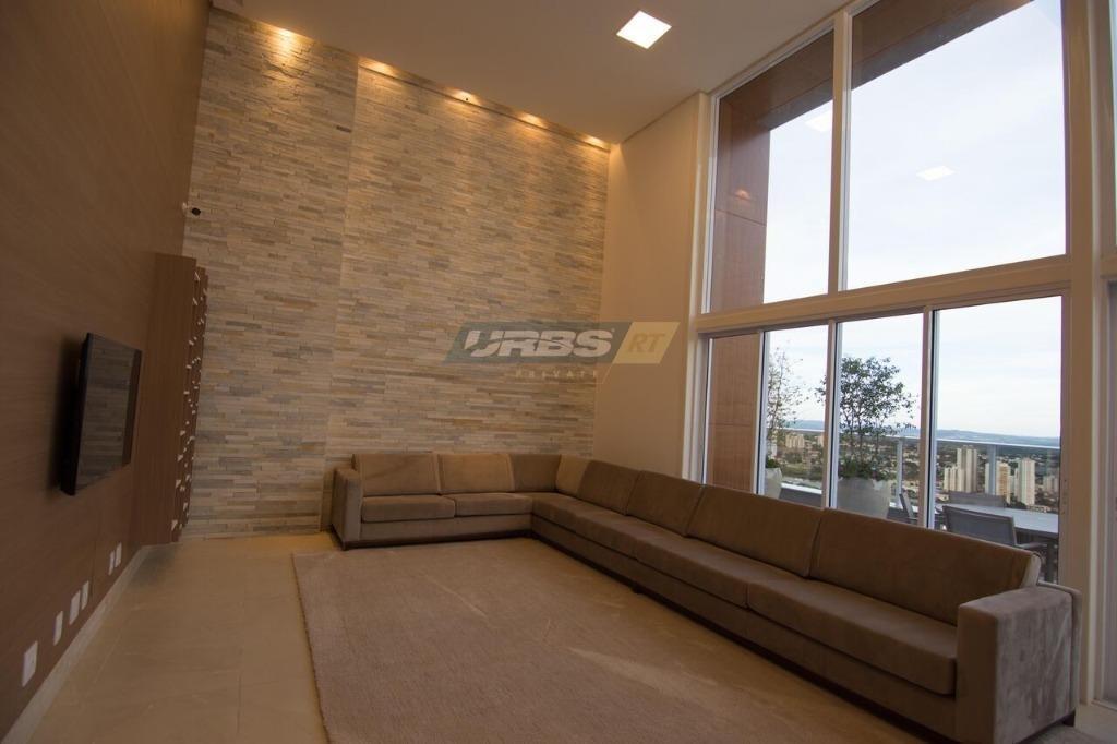 apartamento com 4 dormitórios à venda, 370 m² por r$ 2.650.000,00 - setor marista - goiânia/go - ap2433