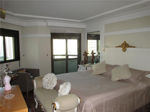 apartamento com 4 dormitórios à venda, 375 m² por r$ 3.300.000 - jardim anália franco - são paulo/sp - ap3119