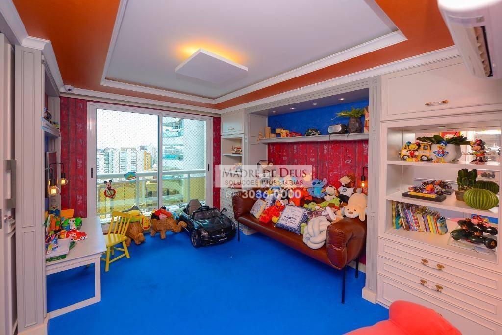 apartamento com 4 dormitórios à venda, 401 m² por r$ 6.300.000,00 - aldeota - fortaleza/ce - ap2491