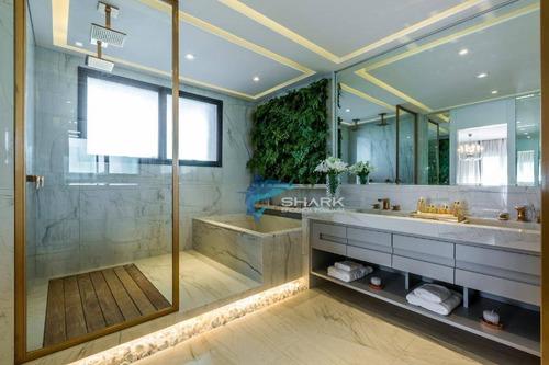 apartamento com 4 dormitórios à venda, 410 m² por r$ 3.618.240 - edifício myrá - barueri/sp - ap0012