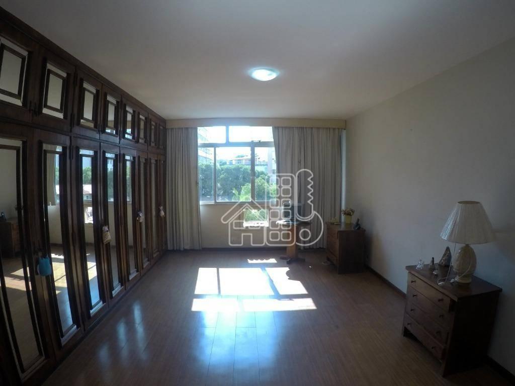apartamento com 4 dormitórios à venda, 417 m² por r$ 1.900.000,00 - ingá - niterói/rj - ap2450