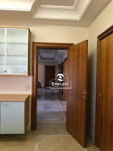 apartamento com 4 dormitórios à venda, 459 m² por r$ 2.500.000,00 - vila bastos - santo andré/sp - ap11942