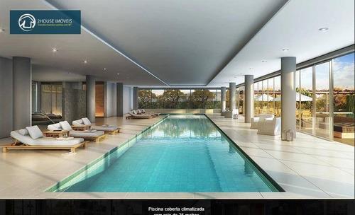 apartamento com 4 dormitórios à venda, 632 m² por r$ 17.300.000,00 - ibirapuera - são paulo/sp - ap23832