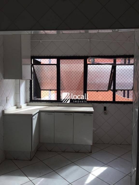 apartamento com 4 dormitórios à venda e locação, 120 m² - jardim vivendas - são josé do rio preto/sp - ap1835