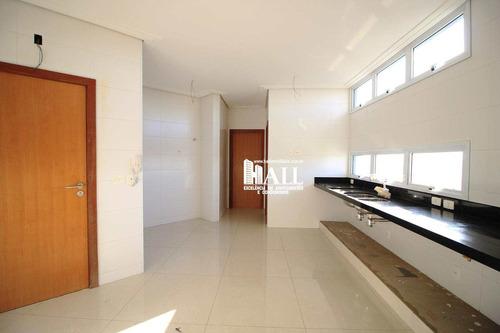 apartamento com 4 dorms, 3 suítes, 3 vgs, são josé do rio preto - v893