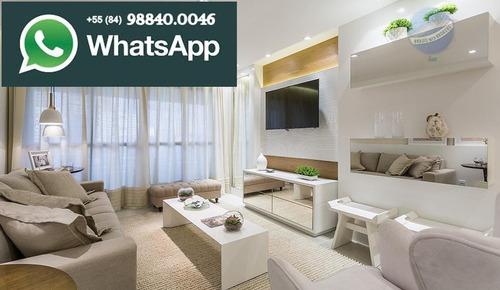 apartamento com 4 quartos, 160m² em lagoa nova - alice grilo - ap0076