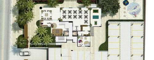 apartamento com 4 quartos em capim macio - ap0029