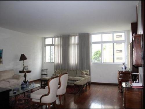 apartamento com 4 quartos no bairro serra. - 1189
