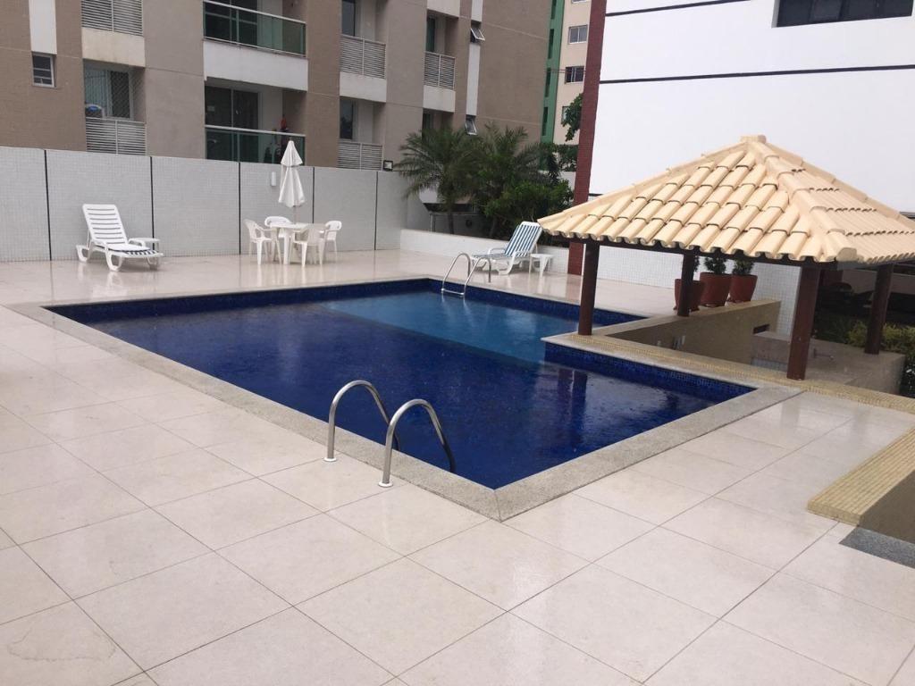 apartamento com 4 quartos para alugar, 180 m² - pituba - salvador/ba - ap2348
